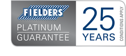 Fielders 25 Year Platinum Guarantee